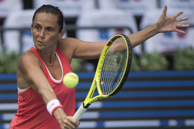 Roberta Vinci... (Photo Fred Dufour, AFP)
