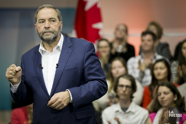 Thomas Mulcair... (PHOTO FRANÇOIS ROY, LA PRESSE)