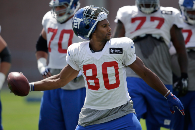 Victor Cruz... (Photo Seth Wenig, archives AP)