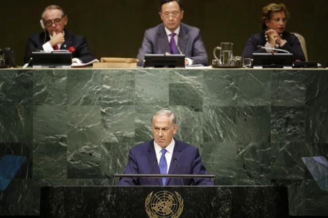 «Voici mon message aux dirigeants de l'Iran: votre... (PHOTO SETH WENIG, AP)