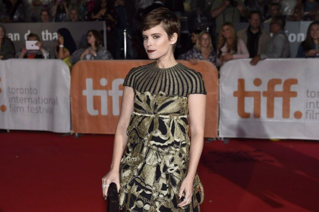 Kate Mara dit avoir sauté sur l'occasion de... (Photo Frank Gunn, La Presse canadienne)