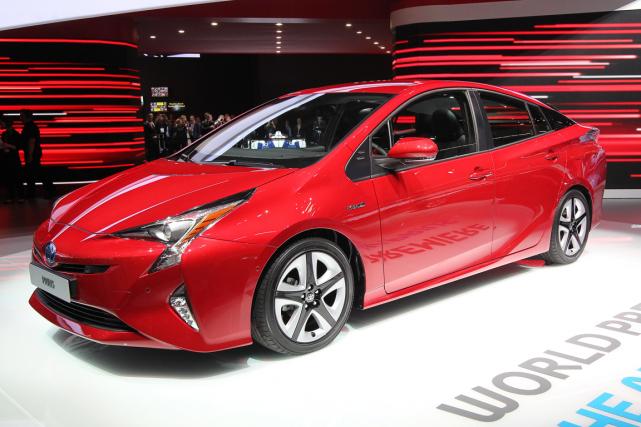 La Toyota Prius... (Photo Daniel Roland, AFP)