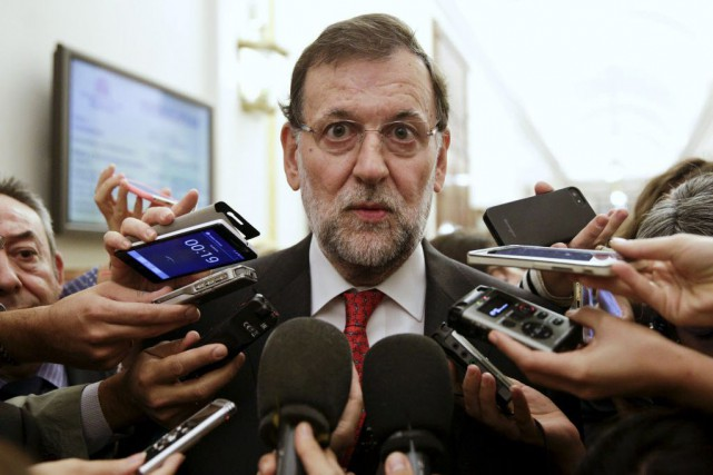 Le chef du gouvernement espagnol, Mariano Rajoy.... (Photo Andrea Comas, Reuters)