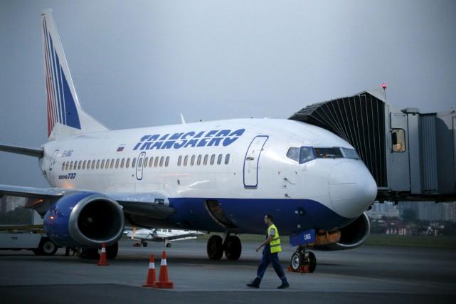 La deuxième compagnie aérienne russe, Transaero, étranglée financièrement par... (Photo Valentyn Ogirenko, REUTERS)