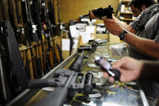 L'Oregon, où a eu lieu la fusillade de jeudi, avait récemment renforcé ses lois... (Photo Brian Blanco, archives Reuters)