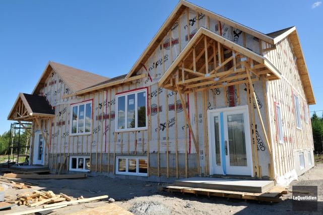 Latendance des mises en chantier d'habitations dans la... ((Archives Le Quotidien))