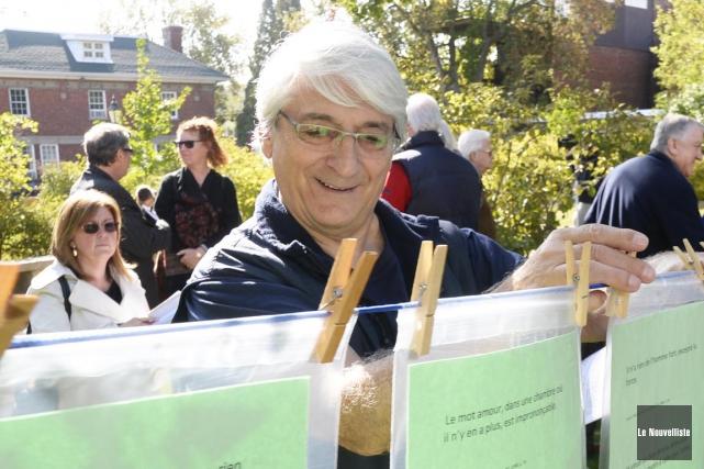 Le Festival international de la poésie de Trois-Rivières... (Photo: Sylvain Mayer, Le Nouvelliste)