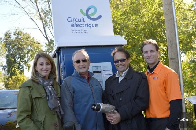 France Lampron, directrice de l'électrification des transports chez... (Benoit Sabourin, LeDroit)
