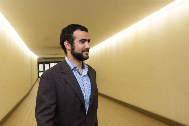 Omar Khadr... (Photo Amber Bracken, La Presse Canadienne)