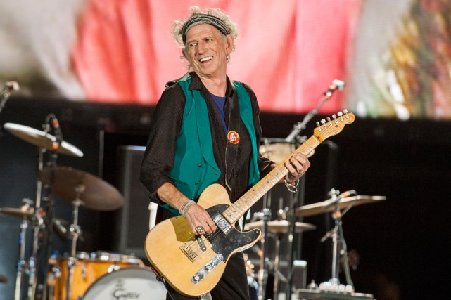 Keith Richards a lancé son premier album solo... (AP, Barry Brecheisen)