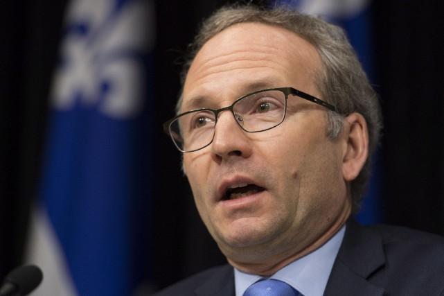 Le président du Conseil du trésor, Martin Coiteux,... (PHOTO ARCHIVES LA PRESSE CANADIENNE)
