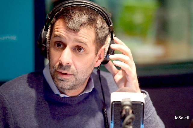 Éric Duhaime accuse Pierre Karl Péladeau d'avoir menti... (Photothèque Le Soleil, Erick Labbé)