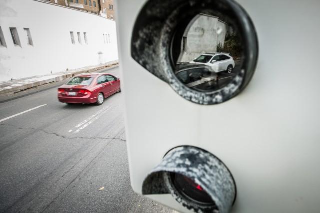L'installation de nouveauxradars photoest essentielle, selon notre chroniqueur,... (PHOTO OLIVIER PONTBRIAND, ARCHIVES LA PRESSE)