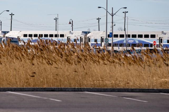 Une nouvelle gare temporaire sera aménagée sur la... (PHOTO DAVID BOILY, ARCHIVES LA PRESSE)