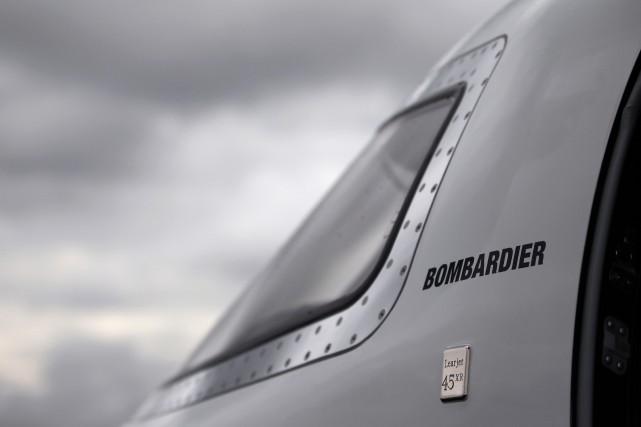 L'action de Bombardier a rechuté hier, cédant près... (PHOTO MATTHEW LLOYD, ARCHIVES BLOOMBERG)