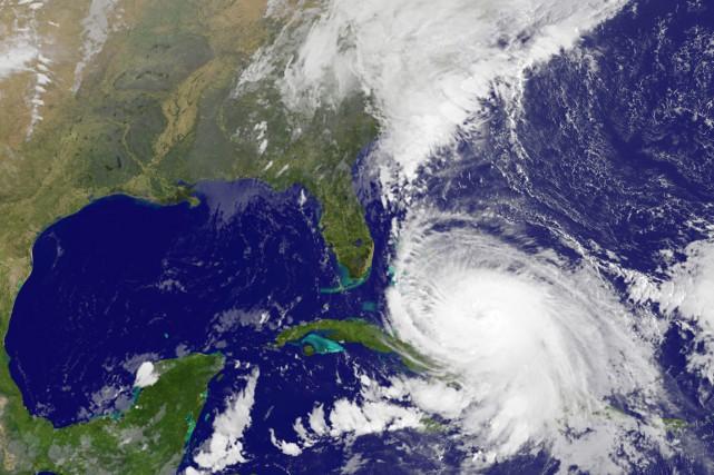 Reste que si les États-Unis vont être épargnés... (IMAGE AFP/NASA)