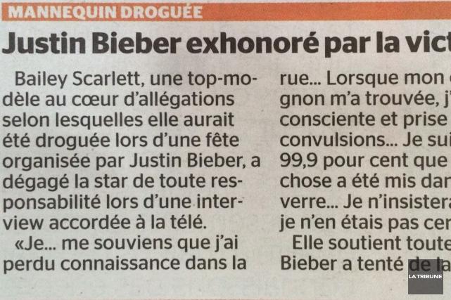Un quotidien montréalais nous a offert un beau doublé cette semaine, lorsqu'il... (La Tribune, Steve Bergeron)