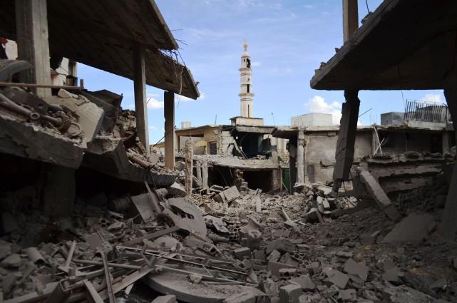 Vladimir Poutine justifie l'engagement russe en Syrie au... (PHOTO MAHMOUD TAHA, AGENCE FRANCE-PRESSE)