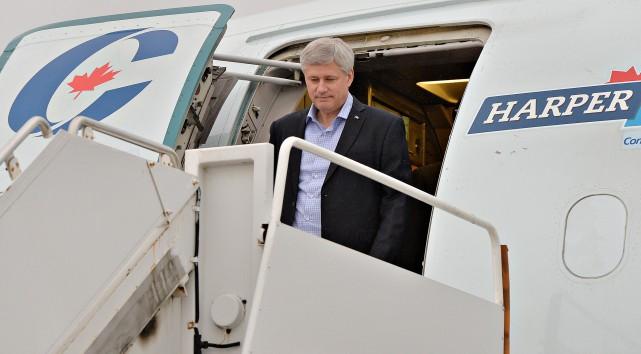 M. Harper a laissé échapper l'occasion d'obtenir le... (PHOTO PASCAL RATTHÉ, LE SOLEIL)