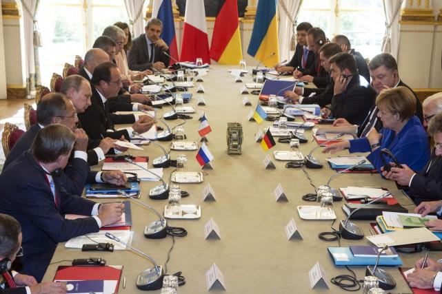 L'allègement des sanctions européennes - qui doit être... (PHOTO ÉTIENNE LAURENT, AP)