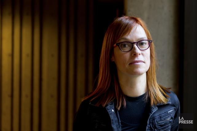 Martine Delvaux... (Photo Marco Campanozzi, La Presse)