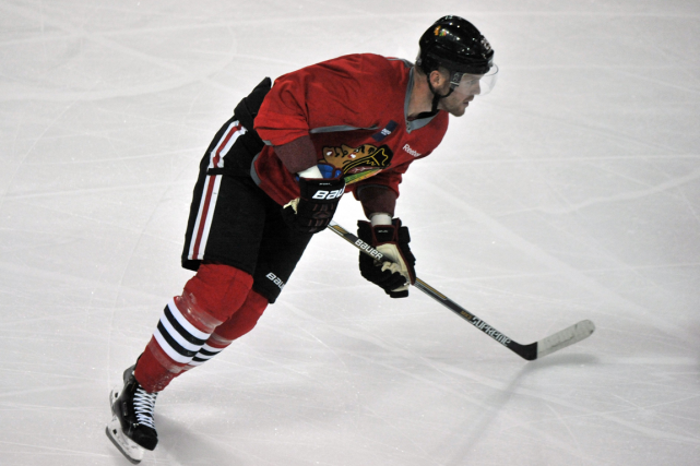Bryan Bickell... (Photo Joe Raymond, archives AP)