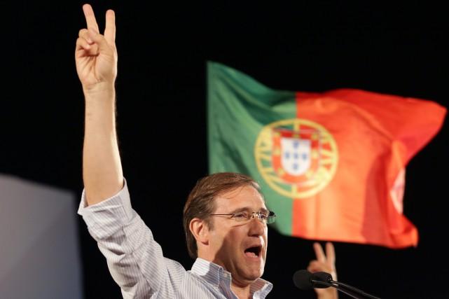Le premier ministre du Portugal, Pedro Passos Coelho.... (Photo Armando Franca, AP)