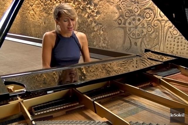 Catherine Major signe toutes les musiques et deux... (Le Soleil, Frédéric Matte)