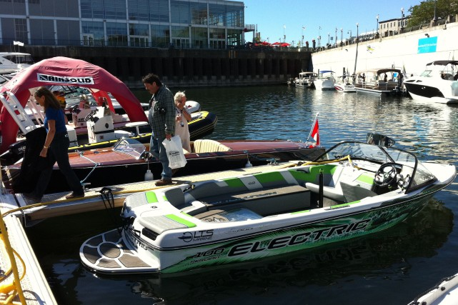 Rare entreprise impliquée dans le domaine des bateaux... (PHOTO FOURNIE PAR LTS MARINE)