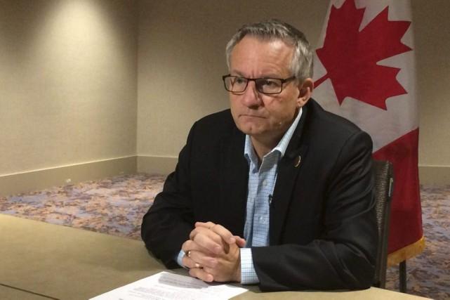 Le ministre canadien du Commerce international, Ed Fast.... (Photo Alexander Panetta, PC)