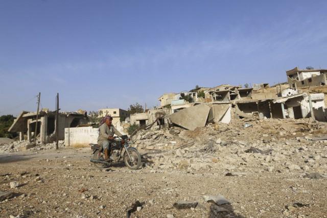 La Russie, fidèle allié du régime de Damas,... (PHOTO AMMAR ABDULLAH, REUTERS)