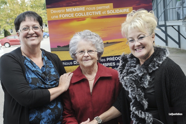 Ruth Tremblay a obtenu le titre d'Agricultrice de... (Photo Le Quotidien, Rocket Lavoie)