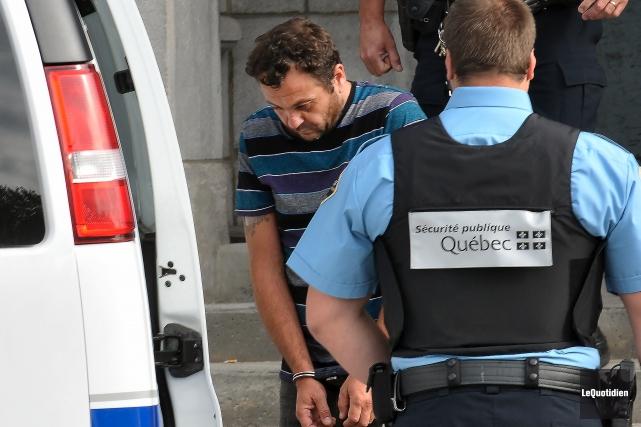Yves Martin, accusé d'avoir causé la mort d'une... (Archives Le Quotidien, Rocket Lavoie)