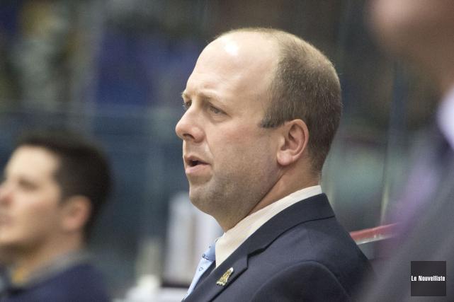 Les Cataractes sauront répliquer, selon l'entraîneur-chef Martin Bernard.... (Photo: Stéphane Lessard, Le Nouvelliste)