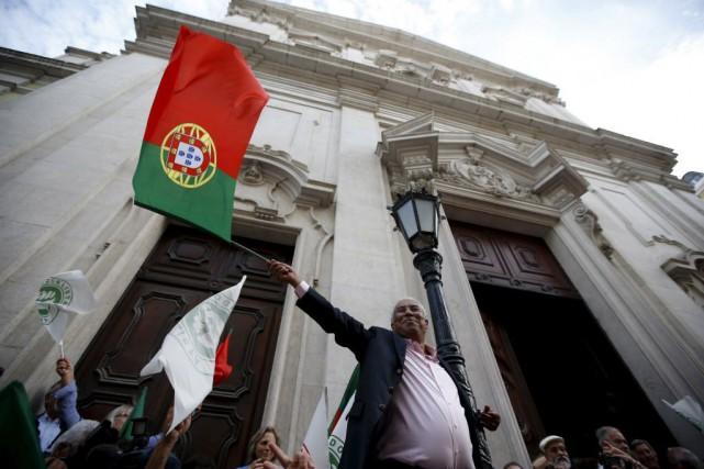 Antonio Costa, chef de l'opposition socialiste.... (Photo Rafael Marchante, Reuters)
