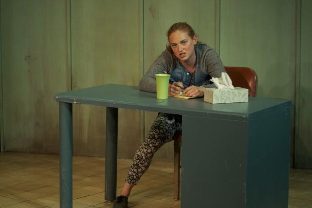 Derrière le personnage d'Aïcha se cache une adolescentefuraxcontre... (Courtoisie, Joé Pelletier)