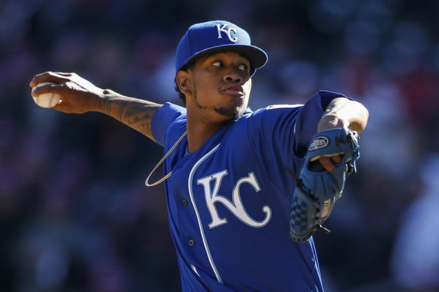 Yordano Ventura... (Photo Bruce Kluckhohn, USA TODAY Sports)