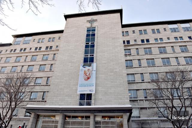 Actuellement, l'Hôpital Saint-François d'Assise (photo), dans Limoilou, et... (Photothèque Le Soleil)