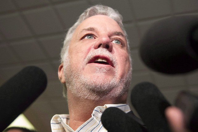 Philippe Couillard... (Photo Jacques Boissinot, archives PC)