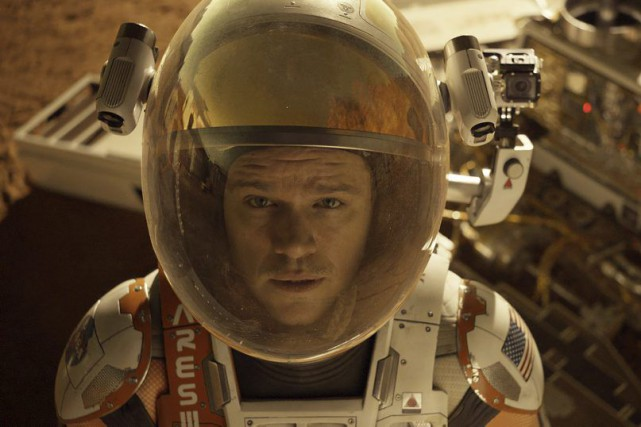 Matt Damon dans une scène de The Martian.... (PHOTO FOURNIE PAR 20TH CENTURY FOX)