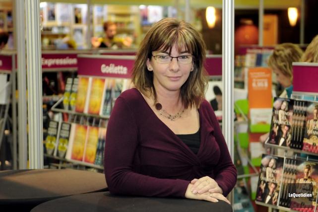 La directrice générale du Salon du livre du... ((Photo Le Quotidien, Marianne L. St-Gelais))