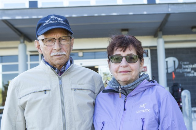 Suzanne Lapierre et Émilien Caron, les parents de... (Photo: Olivier Croteau)