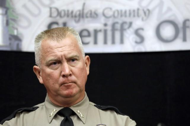John Hanlin, shérif du comté de Douglas où... (ARCHIVES AP)