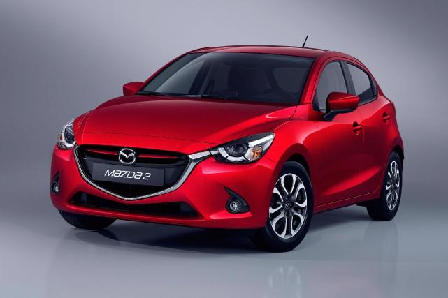 La Mazda2... (PHOTO FOURNIE PAR LE CONSTRUCTEUR)