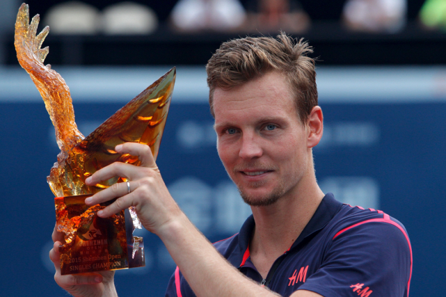 Tomas Berdych... (Photo Alex Lee, Reuters)