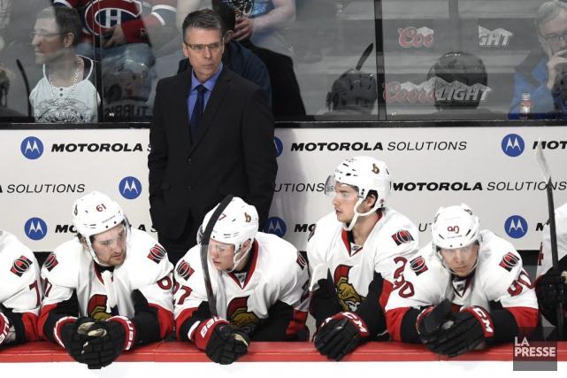 À l'aube de la saison de hockey dans la LNH, où finiront les Sénateurs d'Ottawa... (Bernard Brault, La Presse)
