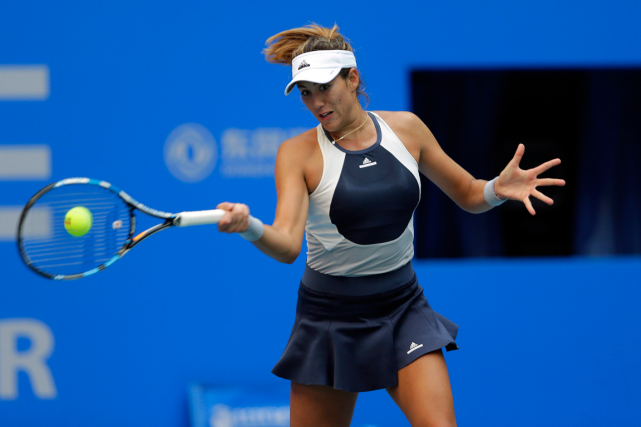 Garbine Muguruza... (PHOTO ARCHIVES AP)