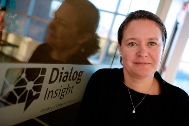 Pascale Guay, cofondatrice et présidente de Dialog Insight... (PHOTO ÉRICK LABBÉ, ARCHIVES LE SOLEIL)
