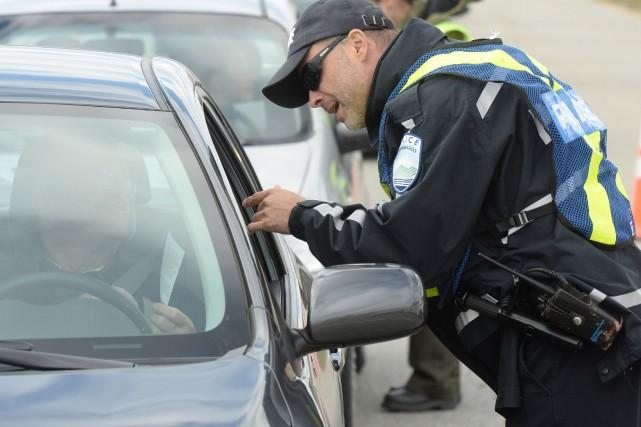 La Régie de police de Mmephrémagog (RPM) est à la recherche de deux hommes... (Archives La Tribune, Maxime Picard)