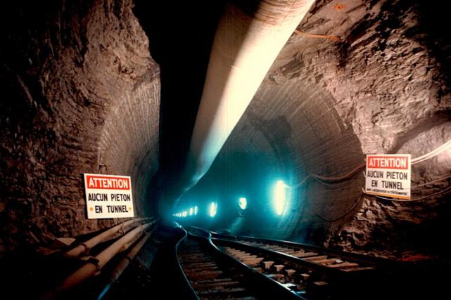 La construction d'une nouvelle chute nécessite la purge... (Photo fournie par la Ville de Montréal)